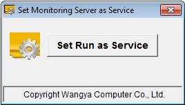 Set OsMonitor run as a service