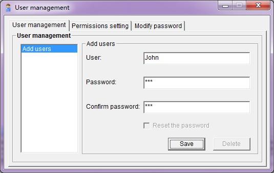 Create monitoring administrator
